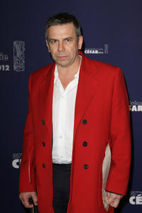 Philippe Torreton at the 37th Cesar Film Awards in Paris.