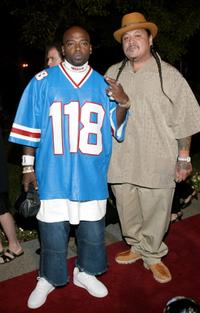 Treach and Guest at the world premiere screening of