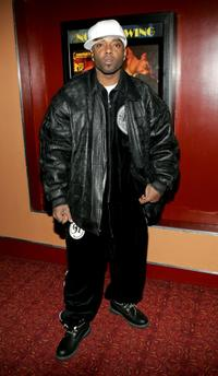 Treach at the screening of