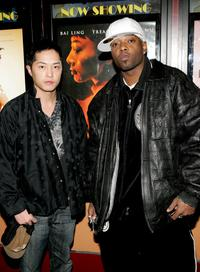Ken Leung, Treach at the screening of