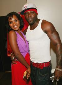 Kerry Washington and Treach at the New York premiere of