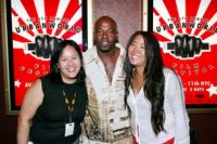 Joy Huang, Treach and Director Bertha Bay-Sa Pan at the Urbanworld Film Festival.