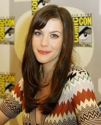 Liv Tyler at the 2007 Comic-Con press panel.