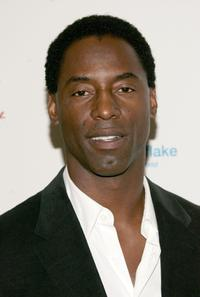 Isaiah Washington at the first annual UNICEF Snowflake Ball.