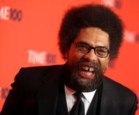 Cornel West at the Time's 100 Most Influential People in the World Gala.