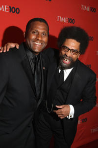 Tavis Smiley and Cornel West at the Time's 100 Most Influential People in the World Gala.