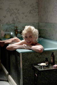 Michelle Williams as Marilyn Monroe in ``My Week with Marilyn.''