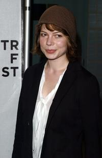 Michelle Williams at the 2004 Tribeca Film Festival for premiere of