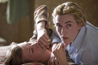 David Kross and Kate Winslet in
