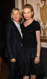 Ellen DeGeneres and Portia de Rossi at the Women In Communication Inc. 2006 Matrix Awards.