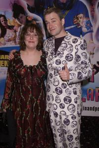 Kathy Burke and Harry Enfield at the UK premiere of