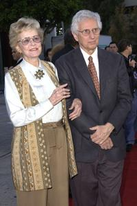 Diana Douglas and Webster at the California screening of