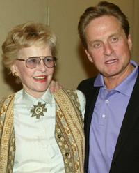 Diana Douglas and Michael Douglas at the California premiere of