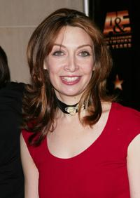 Illeana Douglas at the A & E Television Networks' 20th anniversary celebration.
