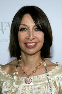 Illeana Douglas at the 'Swarovski Runway Rocks' catwalk jewelry show.