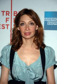 Illeana Douglas at the premiere of