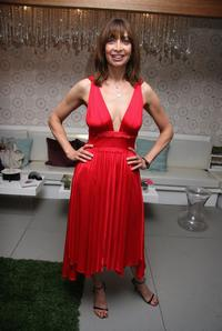 Illeana Douglas at the W VIP Lounge during Olympus Fashion Week.