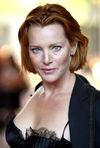 Angela Featherstone at the premiere of