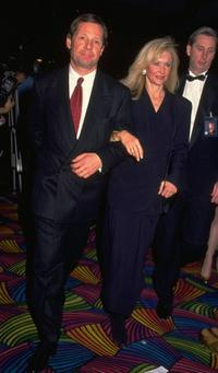 Michael Ovitz and his wife in an undated file photo.