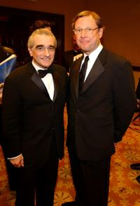 Michael Ovitz and Martin Scorsese at the 55th Annual Directors Guild Awards.
