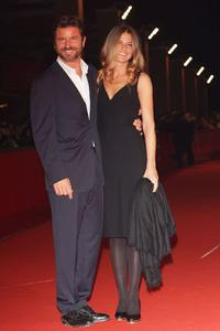Paolo Conticini and Guest at the 3rd Rome International Film Festival.