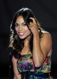 Rosario Dawson at the Spike TV's 2008 Scream awards.