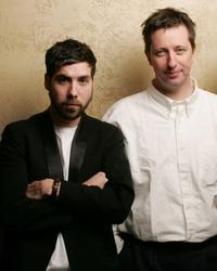 Leo Fitzpatrick and Director Hal Hartley at the 2005 Sundance Film Festival.
