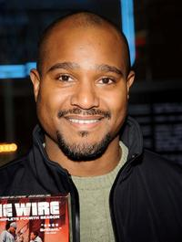 Seth Gilliam at the DVD signing of