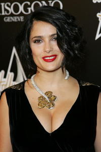 Salma Hayek at The Art of Elysium benefit.