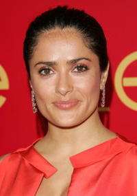 Salma Hayek at the party of
