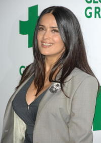Salma Hayek at the Global Green USA's 5th annual awards.