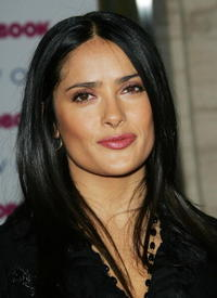 Salma Hayek at the Redbook's 2006 Strength & Spirit Awards.