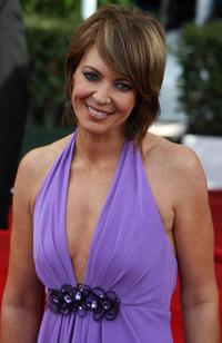 Allison Janney at the red carpet for the 14th Screen Actors Guild Awards.