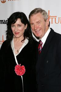 Maria Doyle Kennedy and producer Morgan O'Sullivan at the New York premiere of