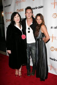 Maria Doyle Kennedy, Jonathan Rhys Meyers and Gabrielle Anwar at the New York premiere of