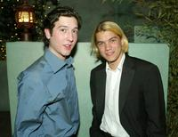 Christopher Marquette and Emile Hirsch at the after party of the premiere of