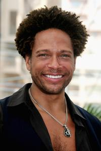 Gary Dourdan at the photocall promoting
