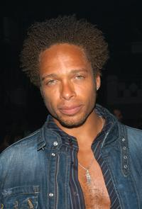 Gary Dourdan at the Sony Computer Entertainments PSP Factory Party.