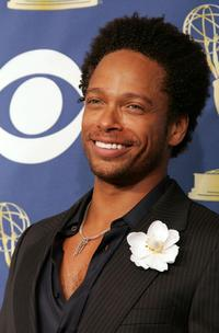 Gary Dourdan at the 57th Annual Emmy Awards.