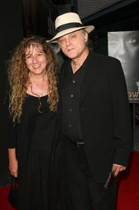 Claudia Handler and Brad Dourif at the premiere of