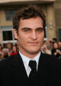 Joaquin Phoenix at the gala premiere of