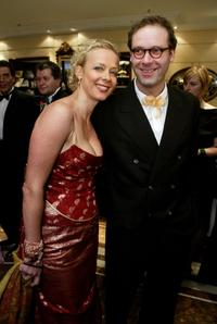 Katja Riemann and Michael Wenninger at the German Film Ball (Deutscher Filmball).