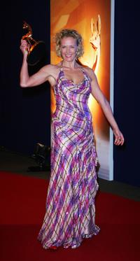 Katja Riemann at the Annual Bambi Awards 2007.