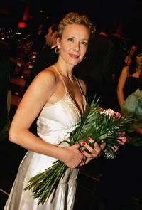 Katja Riemann at the award ceremony of Bavarian Film Awards 2006.
