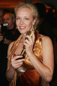 Katja Riemann at the after party of Deutscher Filmpreis, German Film Awards.