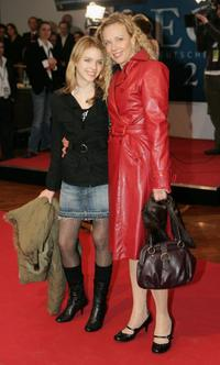 Paula and Katja Riemann at the Echo 2006 Music Awards.