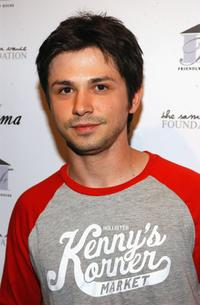 Freddy Rodriguez at the Friendly House benefit opening of Sama Eyewear.