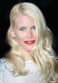 Claudia Schiffer at the Moet and Chandon