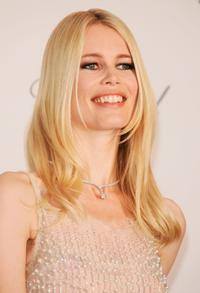 Claudia Schiffer at the Cinema Against Aids 2007 in aid of amfAR.