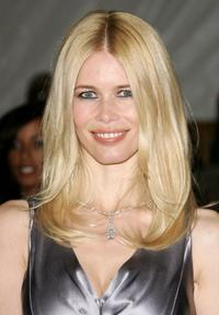 Claudia Schiffer at the Metropolitan Museum of Art Costume Institute Benefit Gala
